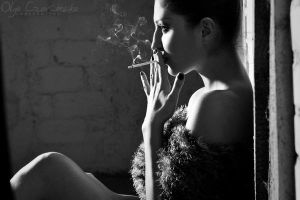 Poliana and the smoke by OlgaC