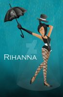 Under Rihanna's Umbrella by girl0in0question
