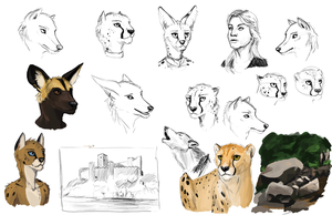 Sketchdump #1 by TitusW