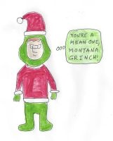 Montana Max as The Grinch by dth1971