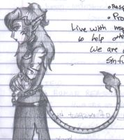 Tigra on my Notes by ninaclaww
