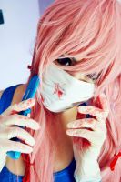 Yuno Gasai - Mirai Nikki (The future diary) by chiaramncsp