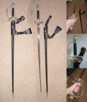 "Vyse's Sword ""epee"" by GeneralVyse"