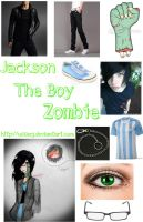 Cosplay Jackson The Boy Zombie #3 by UsserJ