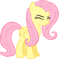 Fluttershy Is Happy to See You! by xGamerGir3