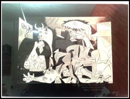 My Guernica by SaralovesMichael