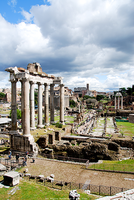 The Roman Forum by Ana-D