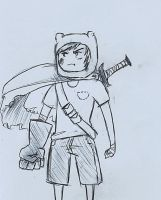 Finn Sketch by tsunamisilvers
