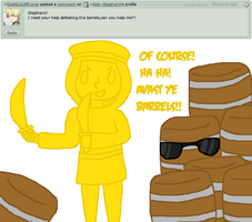 Question 2 - Barrels! by Ask--Stephano