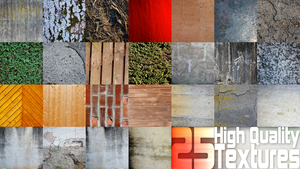 25 High Quality Textures by Gamekiller48