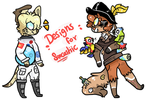Designs For Sarcastiic by silly-sweetness