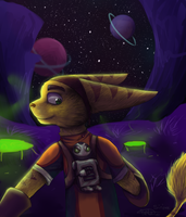 COLLAB - Ratchet and Clank by SekoSirita
