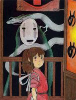 Spirited Away by saisasori