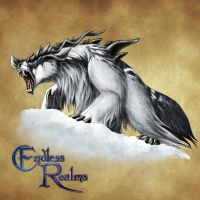 Endless Realms bestiary - Gulo by jocarra
