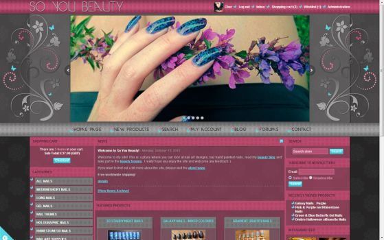 soyoubeauty.com Ecommerce Beauty Site Design by soyoubeauty