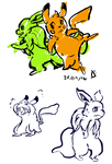 Some Shabby Doodles by DottyFen