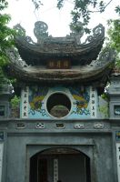 Ngoc Son Temple 1 by Vnstockphoto