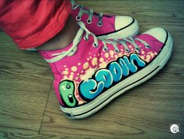 Cookiex Converse Two by Matzeline
