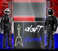 YT Background: Daft Punk by MTS3