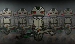 Army of Robots by theklegg