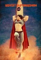 Soviet Superwoman by AreaOrion by Soviet-Superwoman