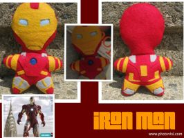 The Philanthropist: Iron Man -The Plushies- by calceil