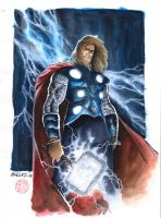 Thor -God of Thunder- Odinson by Kromdor