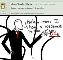 ask slenderman #25 by ComputerN3RD