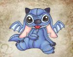 Cosplaying Stitch by lordzasz
