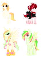 Old Adopt Group by Inky-Adopts