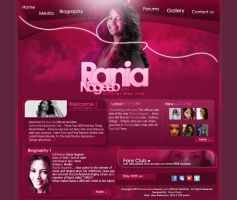 Rania Nagib WEBSITE .. Home by ShekOo