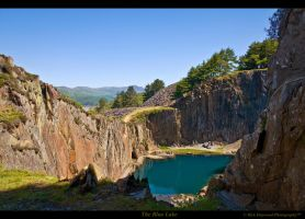 The Blue Lake 183-9o by Haywood-Photography