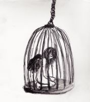Caged Bird by Kakekun
