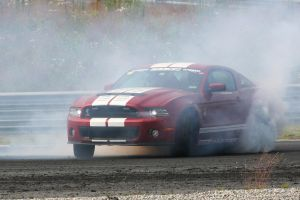 Mustang In The Smoke by Heavymedicated