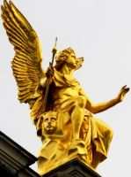 Angel with a second Face by Nick-Marschlich