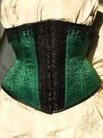 Corset Slytherin by HannahB91