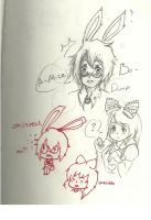 in my drawing notebook:alice drawings by xanimedrawerx