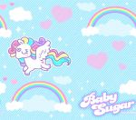 Baby Sugar Pattern Background by MissJediflip