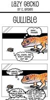 Lazy Gecko Numba 3 by TeknicolorTiger