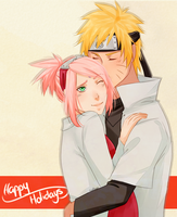 Gift Exchange: NaruSaku by Sukieyo