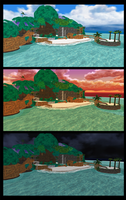 [MMD] Destiny Islands Stages - DL by kazuki9484