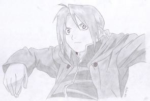 Edward Elric by AppleFreak56