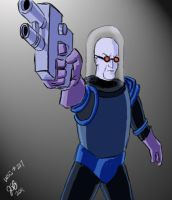 Mr. Freeze by sirandal