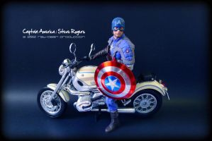 Hot Toys - CAPTAIN AMERICA 3 by jaysquall