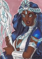 Birthday: ACEO #132 - Lady Of The Stars by SailorAlcyone