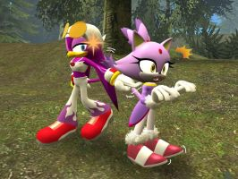 Blaze getting Poked by EpicN