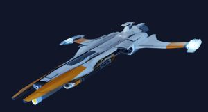 Project Excalibur Cruiser MAYA by bflynn22
