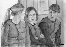 Tris, Christina and Will by mcsaza