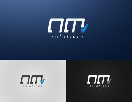 nm solutions - logo by toupmoe