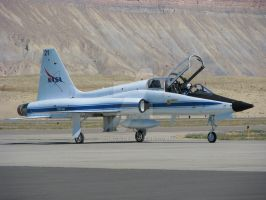 NASA T-38 Talon by Qphacs